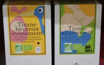 Tisanes allaitement, Rayon Bébé, Bessines
